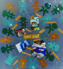 safe zone collage